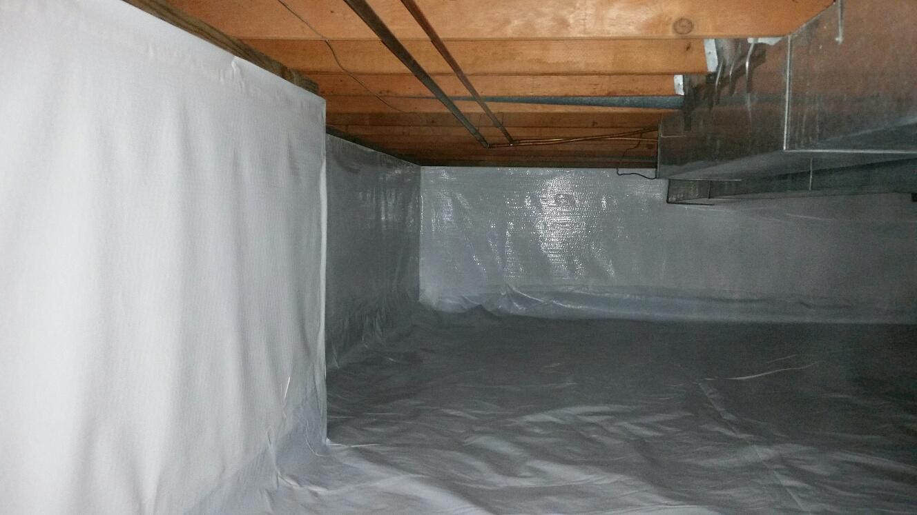 CleanSpace protects against vapors and moisture. It helps with aesthetics, and keeping insects out.