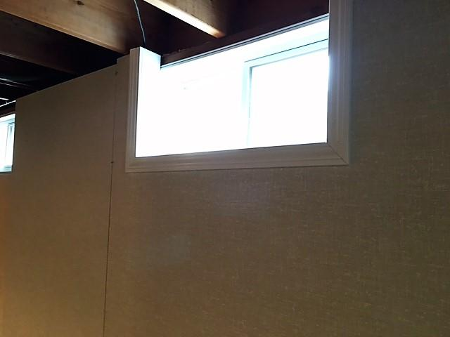 The EverLast Window is sealed in place, minimizing drafts and eliminating water intrusion through the window.