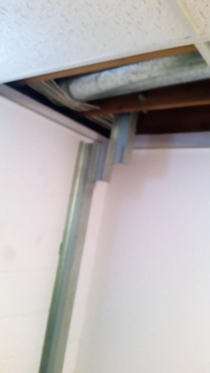 The PowerBrace is attached to the joist, which in turn offers stabilization and is potentially corrective overtime.