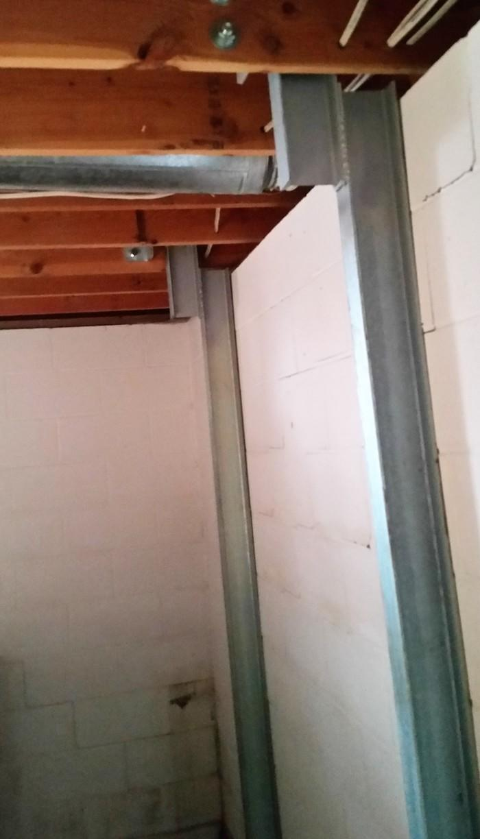 The PowerBraces stabilize the wall, offering the homeowners security that their foundation is safe.