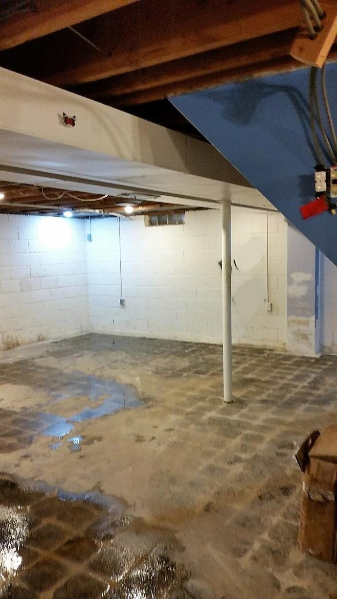 Just an ordinary basement that needs waterproofing.