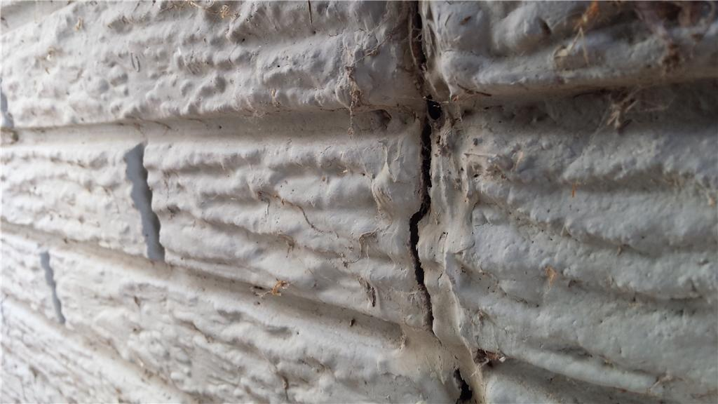 Over time, ground will settle, causing foundation cracks.
