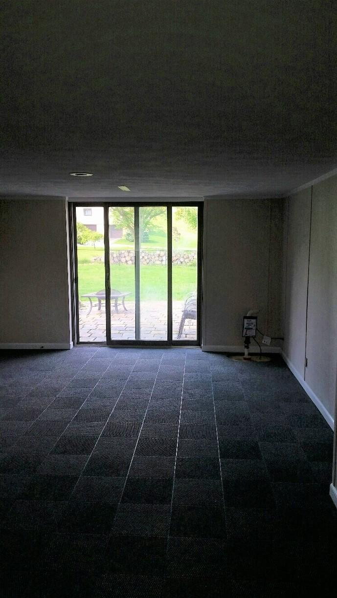EverLast Walls and ThermalDry Flooring pull a finished look all together.