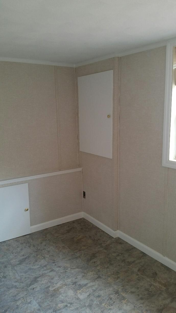 EverLast Walls allow for electrical panel to be out-of-site, yet still easy to access at any time.