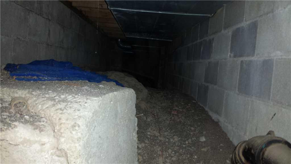 Even the smallest areas of the crawlspace need to be encapsulated.