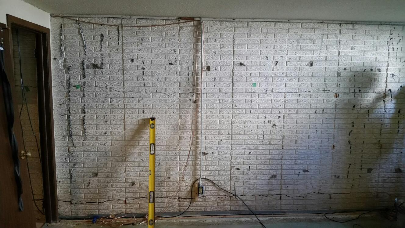 Large foundation cracks are caused by bowing walls.