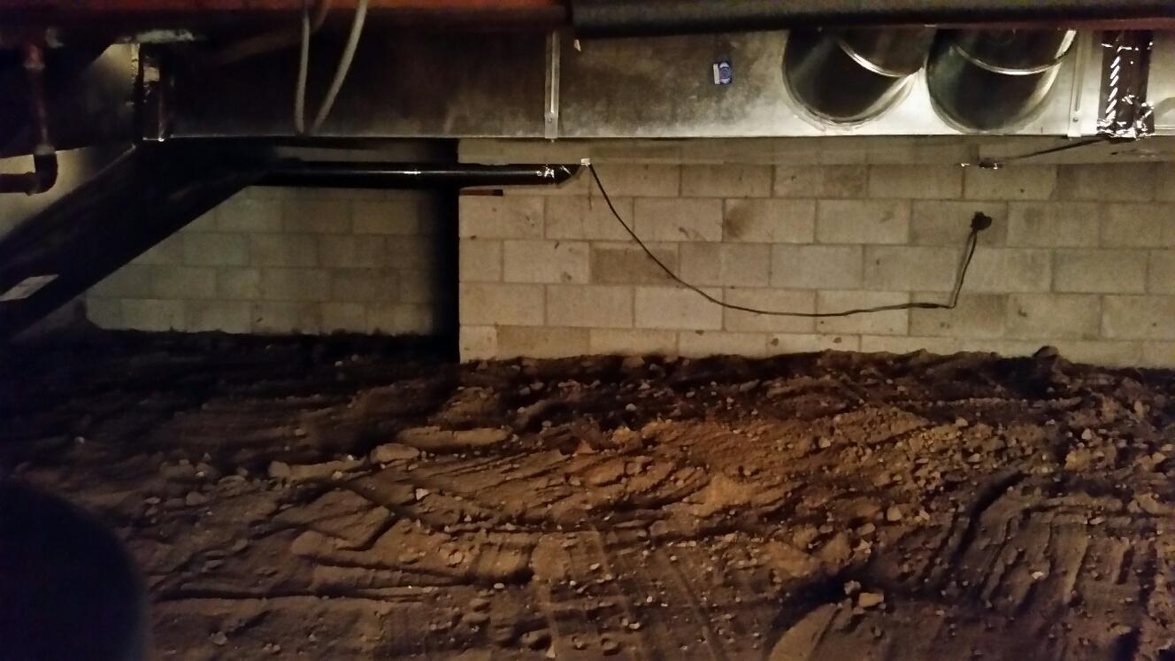 Untreated crawlspaces allow moisture to enter the home, putting the home at risk.