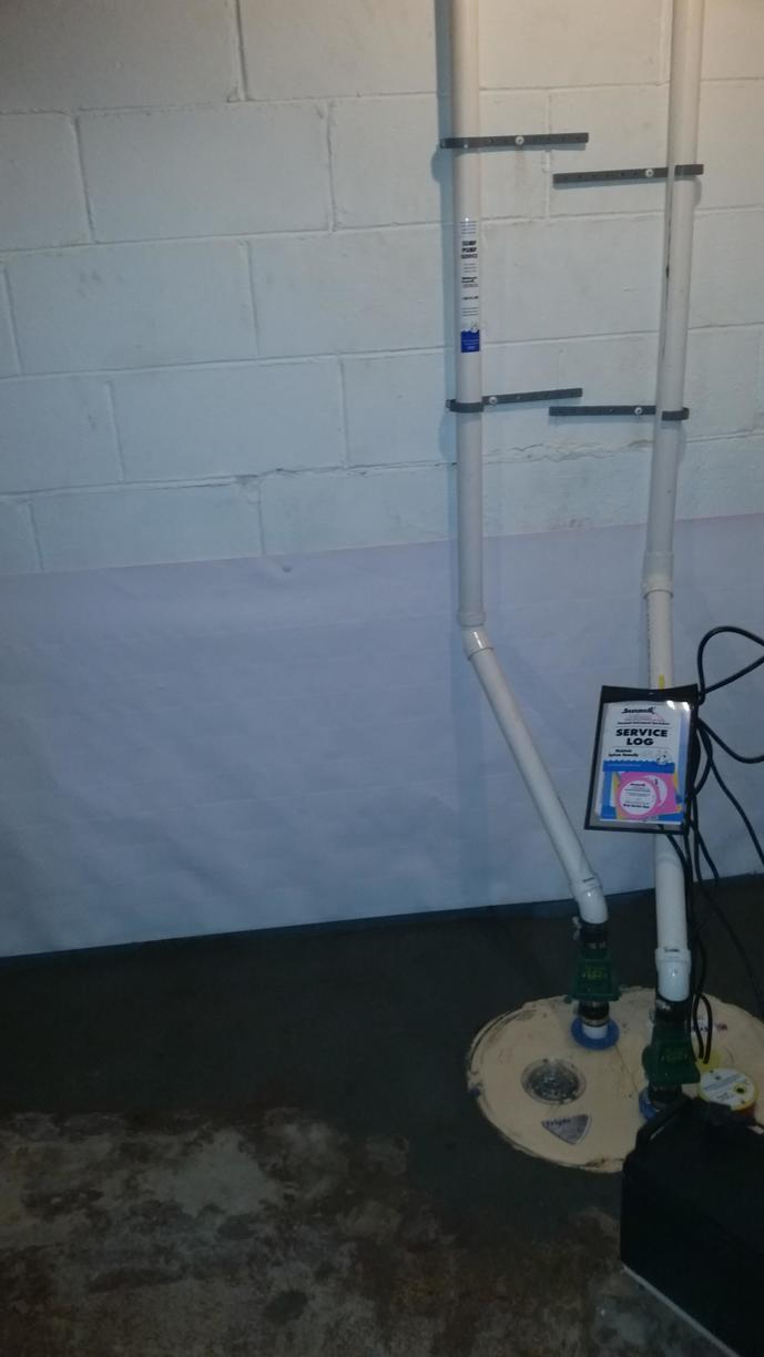TripleSafe pump, WaterGuard & CleanSpace Wall System.