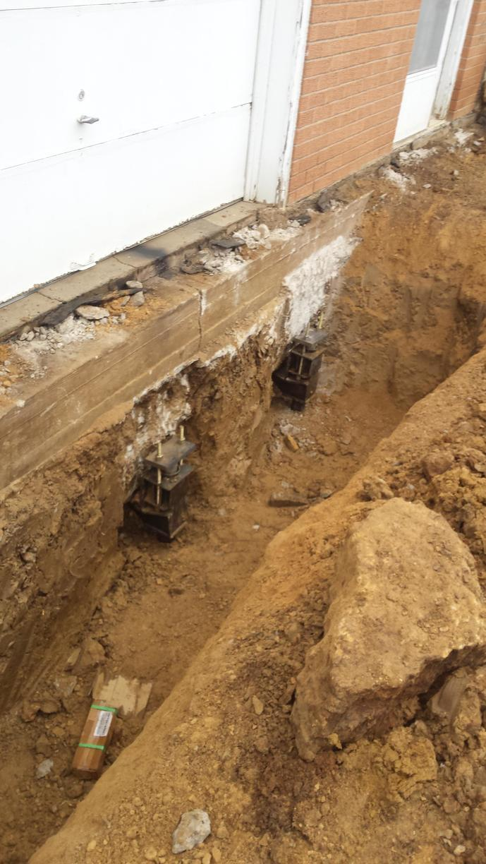 Because push piers are driven all the way to bedrock or a stable soil layer, push piers are often the least risky solution when local soil conditions are unknown.
