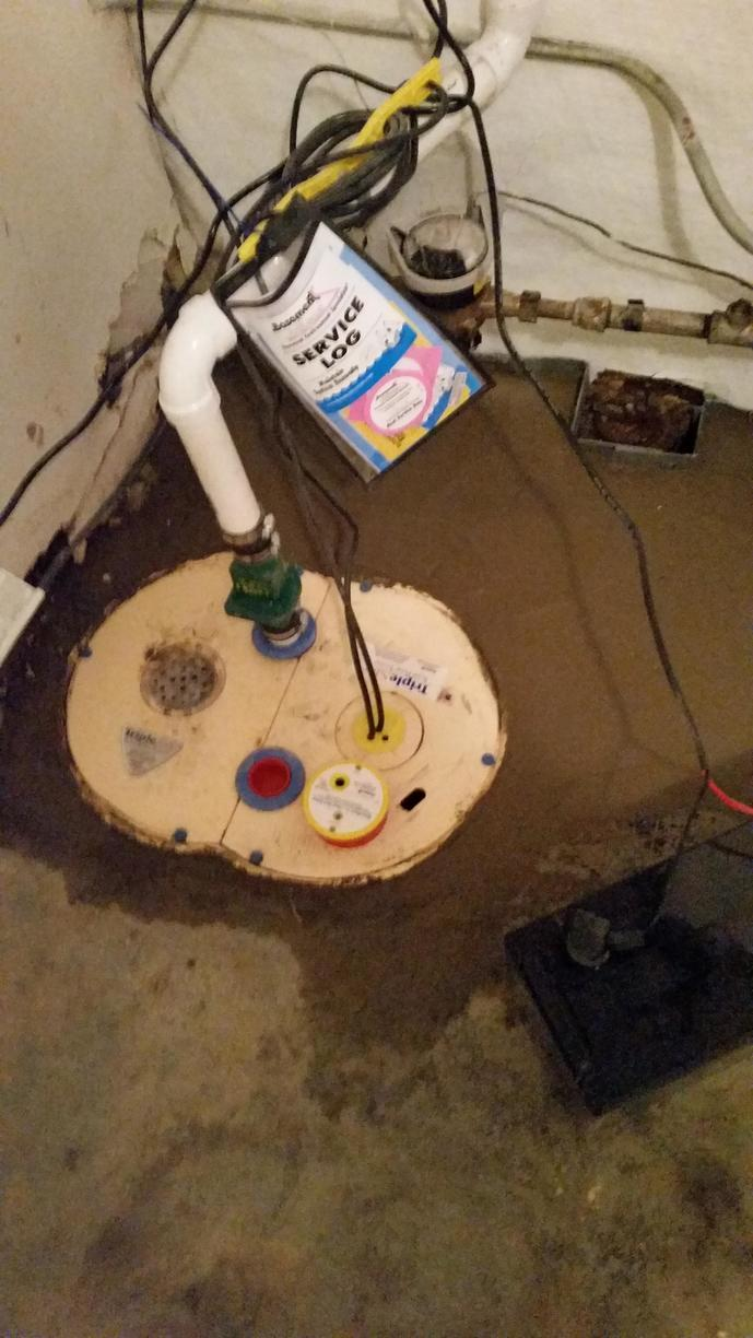 The TripleSafe™ sump pump system keeps your basement dry with triple the protection. Most sump pumps fail because of either a failed pump, a pump that can't handle high volumes of water or power failure. The TripleSafe assures protection from all three sump pump problems.