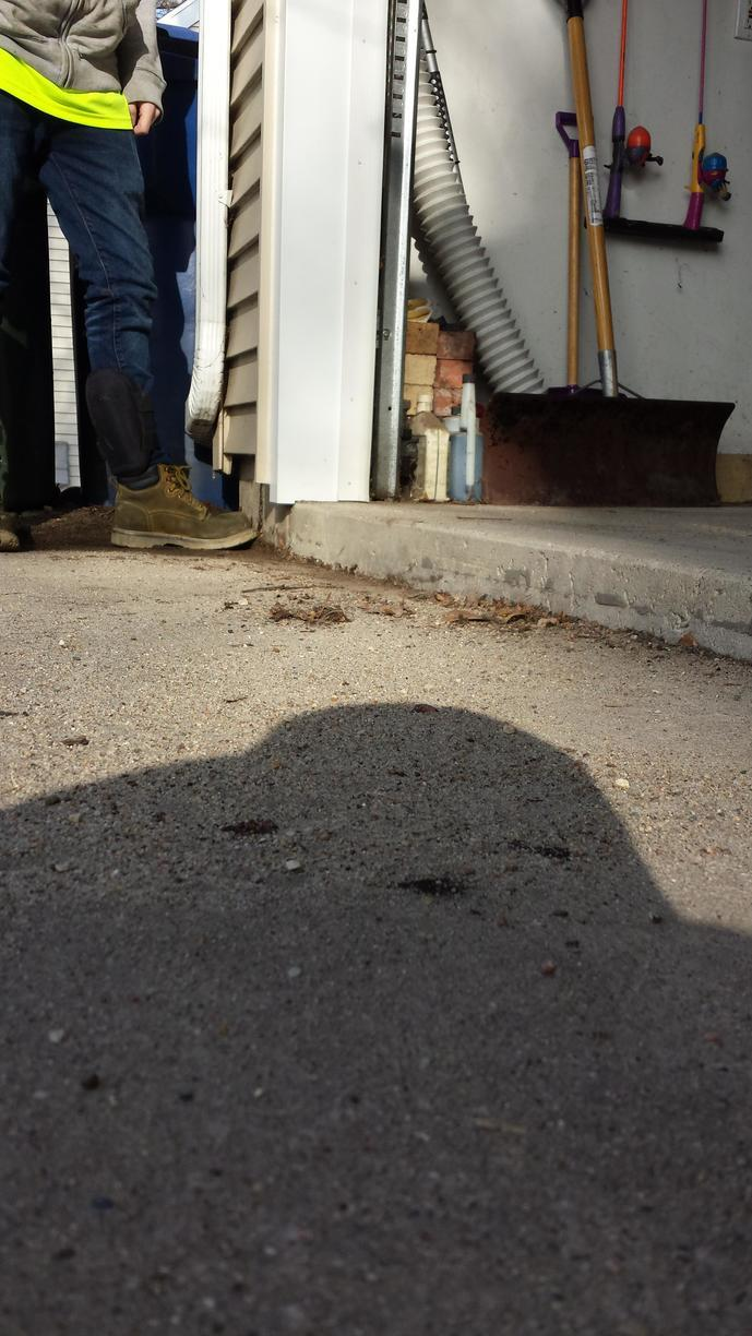 Sinking slabs around your home or foundation can cause