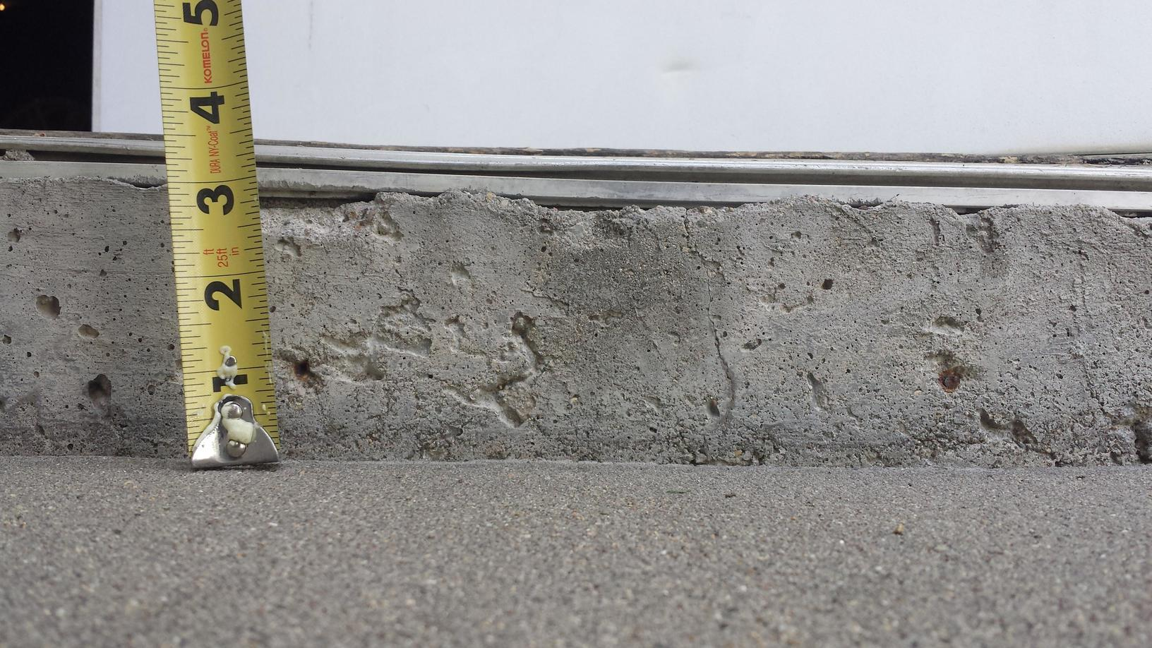 Measuring helps then determine how much PolyLevel foam they need.