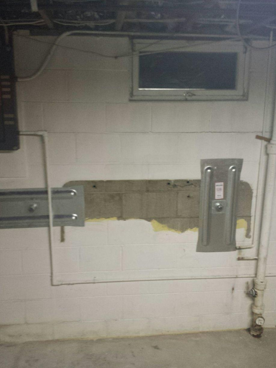 Geolock Installation requires no heavy equipment inside the home.