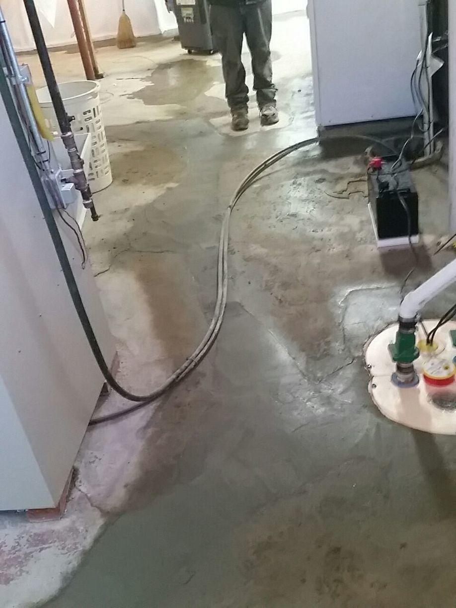 The TripleSafe Sump Pump is a very reliable sump pump. It is a necessary element in the waterproofing system. It will keep the basement triple safe if any three pump problems happen to occur. The three pump problems are pump failure, too much water coming in at once, and power failure.