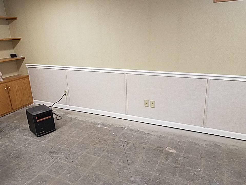The EverLast Wall System will restore the bottom of your finished walls.