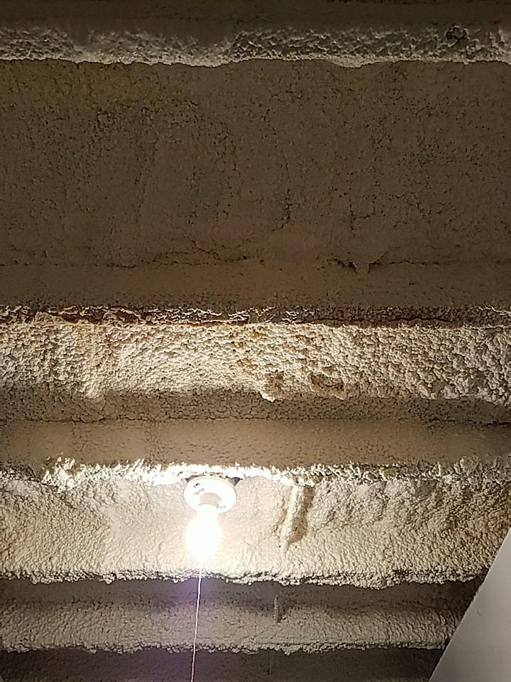 Foamax was used to insulate the basement ceiling. It provides superior insulation and great cost savings!