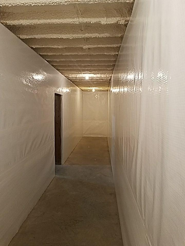 CleanSpace is a permanent installation and installed with permanent drilled-in fasteners.