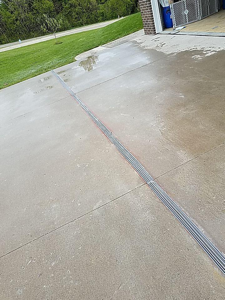 Expansion and control joints are installed in driveways to allow for movement within the concrete and protect your home from expansion forces.
