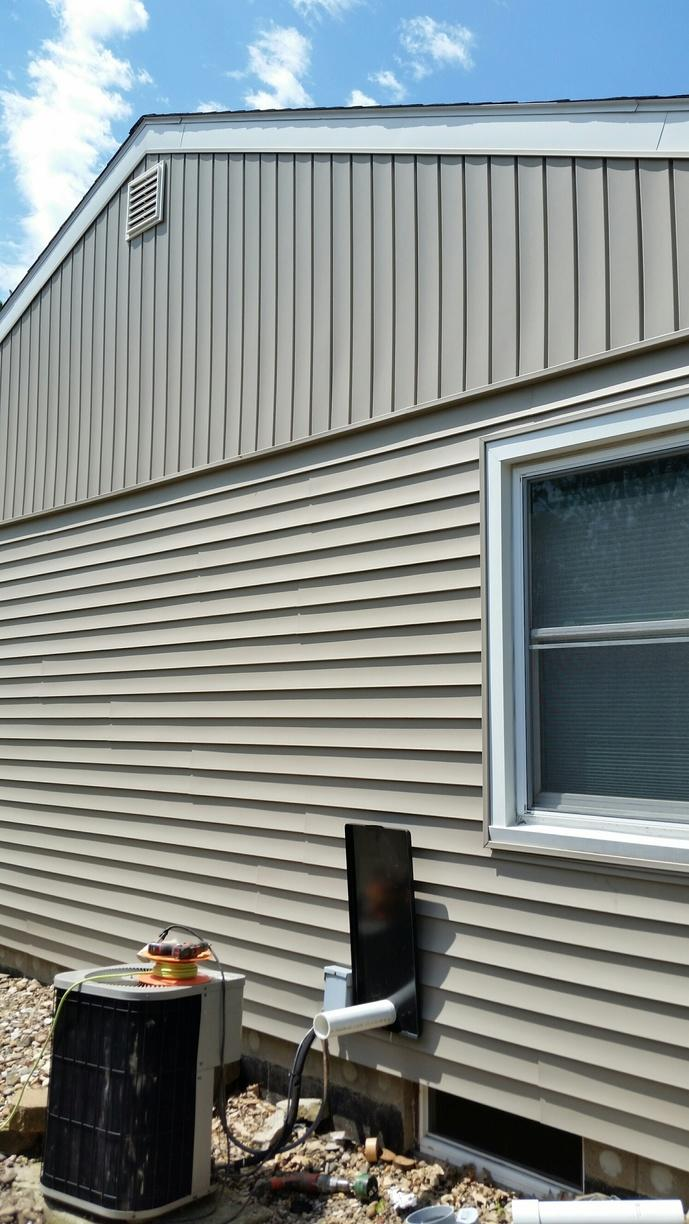 An Exterior Aesthetic Package was installed on the outside of the homeowners home. Having the package installed will increase the life of the system and also protect the investment into your home.
