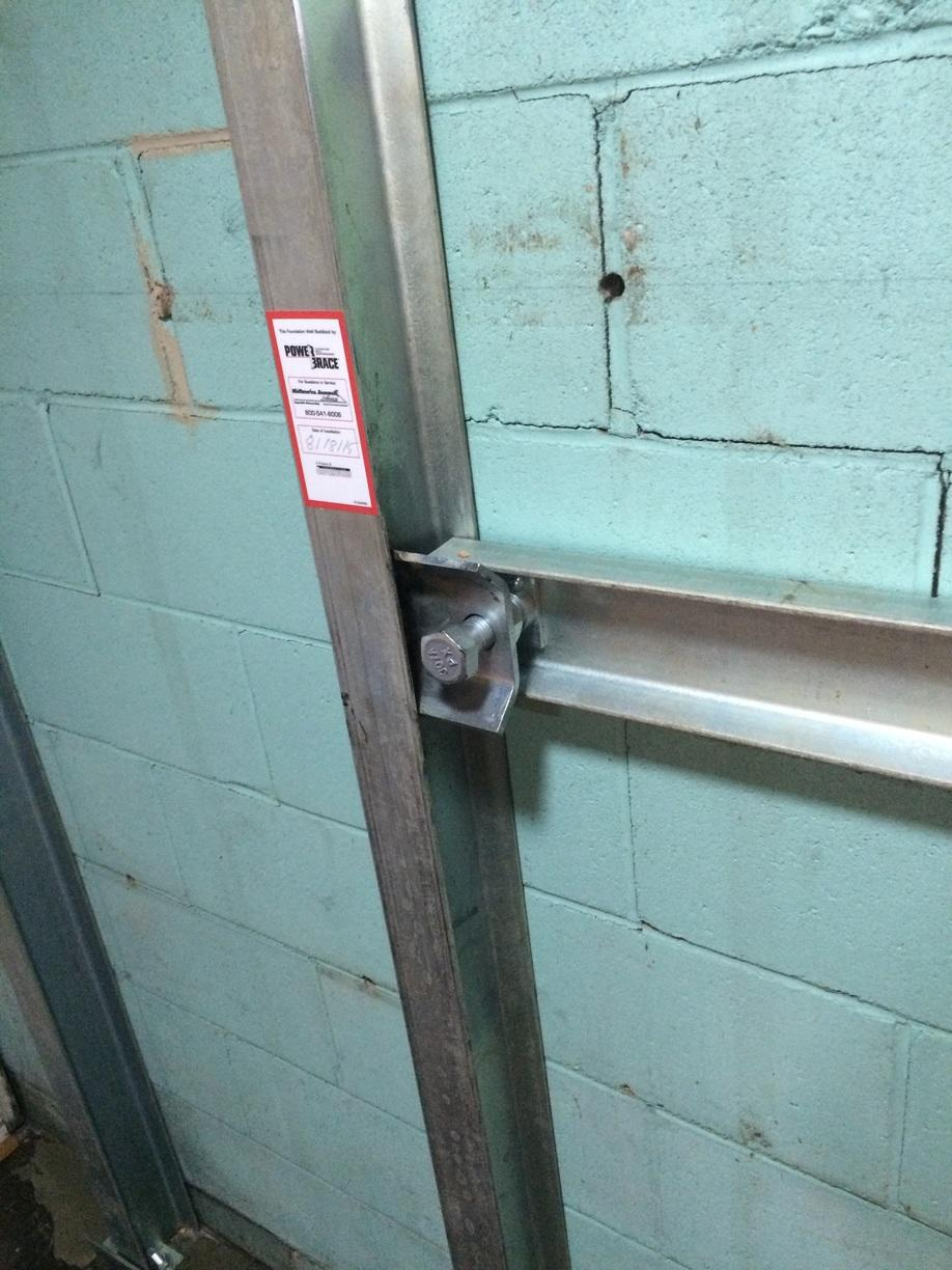 Other I-Beams systems are black, or uncoated. The PowerBrace is zinc-plated which reduces wear and tear.