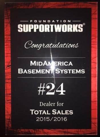 2015/2016 Total Sales Award