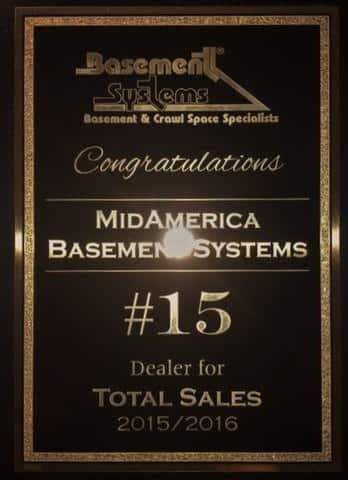 2015/2016 Total Sales Award (2)