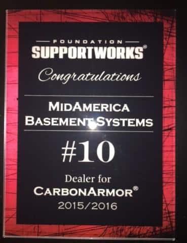 2015/2016 CarbonArmor Dealer Award