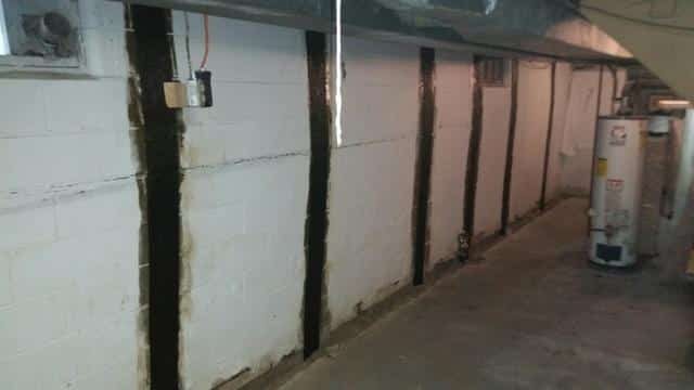 Sterling, IL Basement Stabilization - After Photo