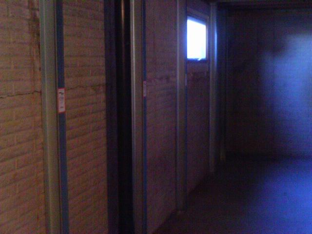 With the completion of the patented zinc plated Power Brace system this basement is stable. The added bonus is the potential for further straightening with time.