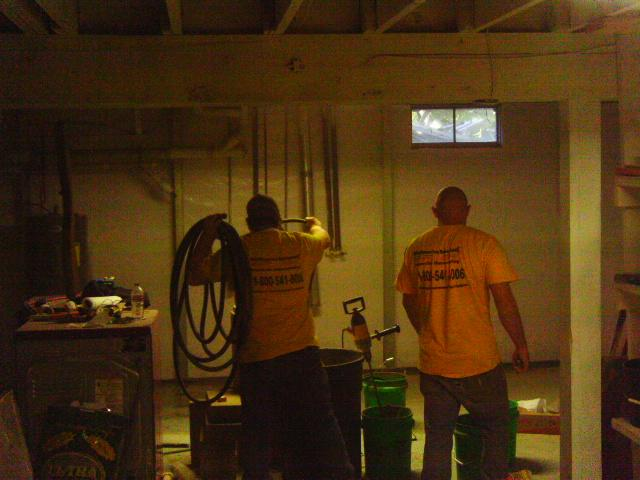 The team at MidAmerica Basement Systems is dedicated in providing the WOW in our services. The team makes sure to clean up and leave the space better than they found it.