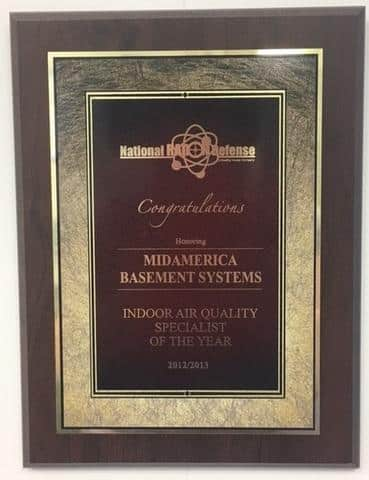 Indoor Air Quality Specialist of the Year