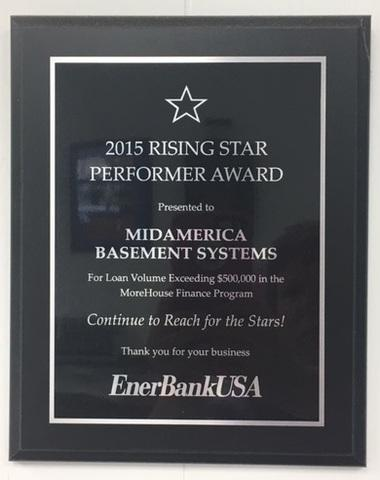 2015 Rising Star Performer Award