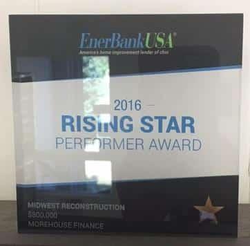 2016 Rising Star Performer Award