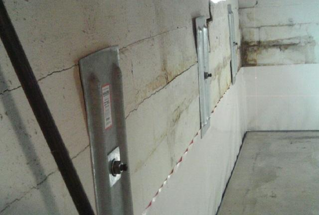 Wall Anchors Stop Wall from Bowing in Dixon, IL Basement - After Photo