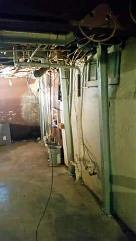 Supporting Bowing Wall with PowerBrace System in Peru, IL - After Photo