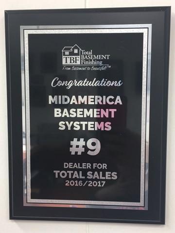 #9 Dealer in Total Basement Finishing