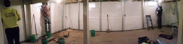 Moldy, Failing Basement Installs Waterproof and Stabilizing Systems in Leaf River, IL - After Photo