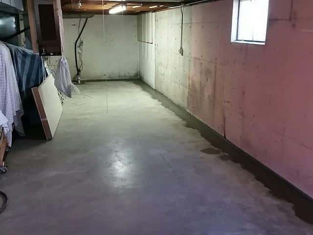 Problematic Wet Basement Fixed in Freeport, IL - After Photo
