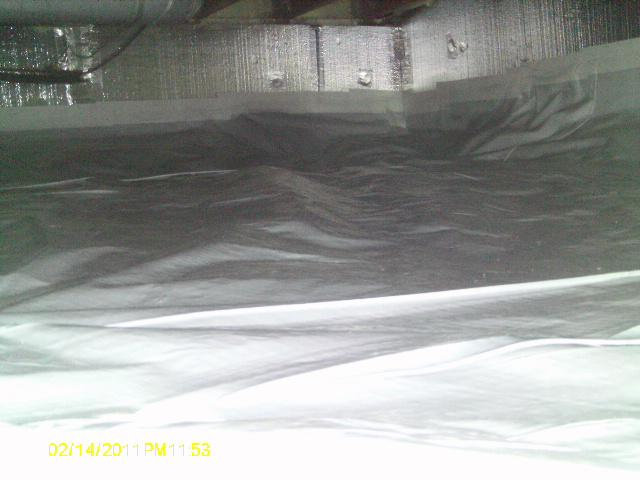 This space is dry and protected..oh and warm toasty thanks to SilverGlo insulation panels.