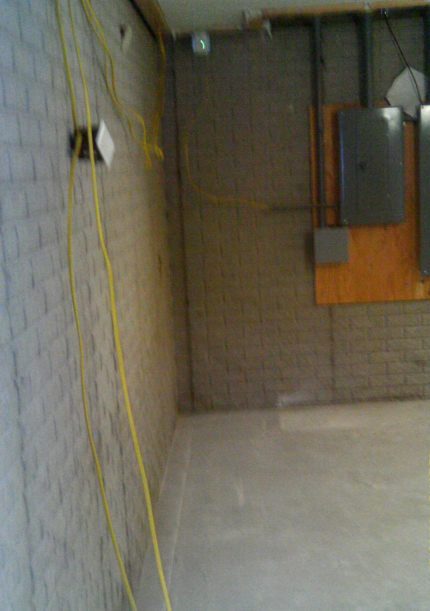 Before, the basement had repeated water intrusion because there was not an efficient sump pump or waterproofing systems in place to protect it.