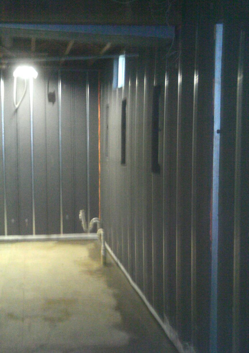 B2B panels are all inorganic so they will not soak up water, rot, or support mold growth.