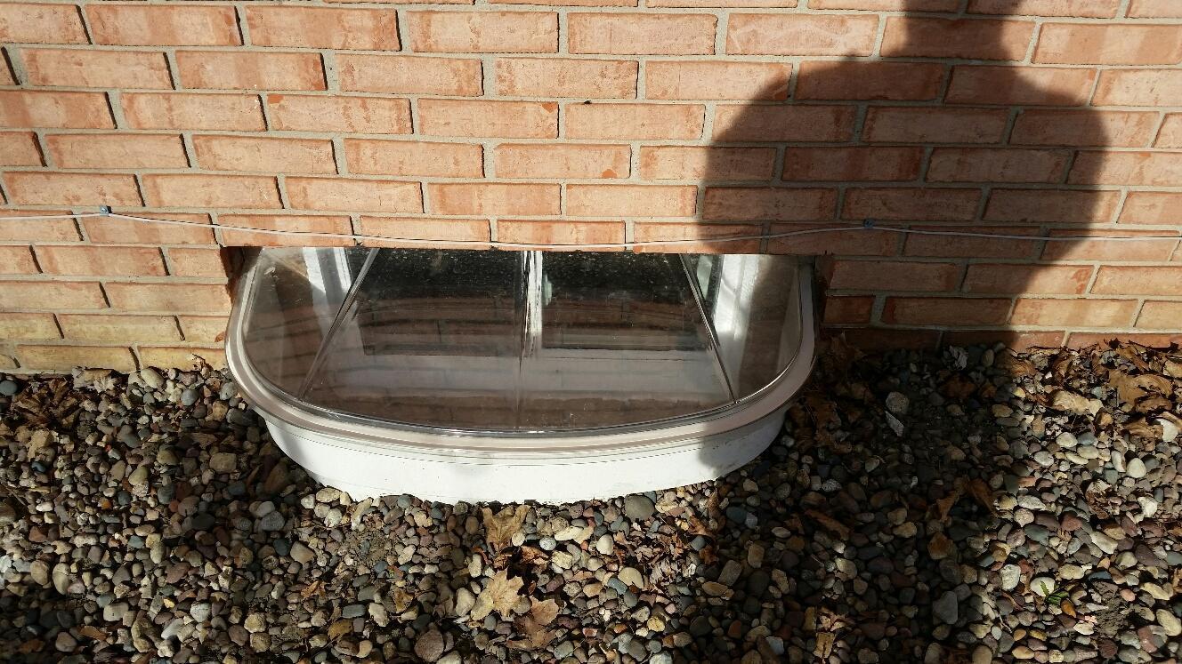 Egress windows are energy efficient, all vinyl, double-pane glass windows.