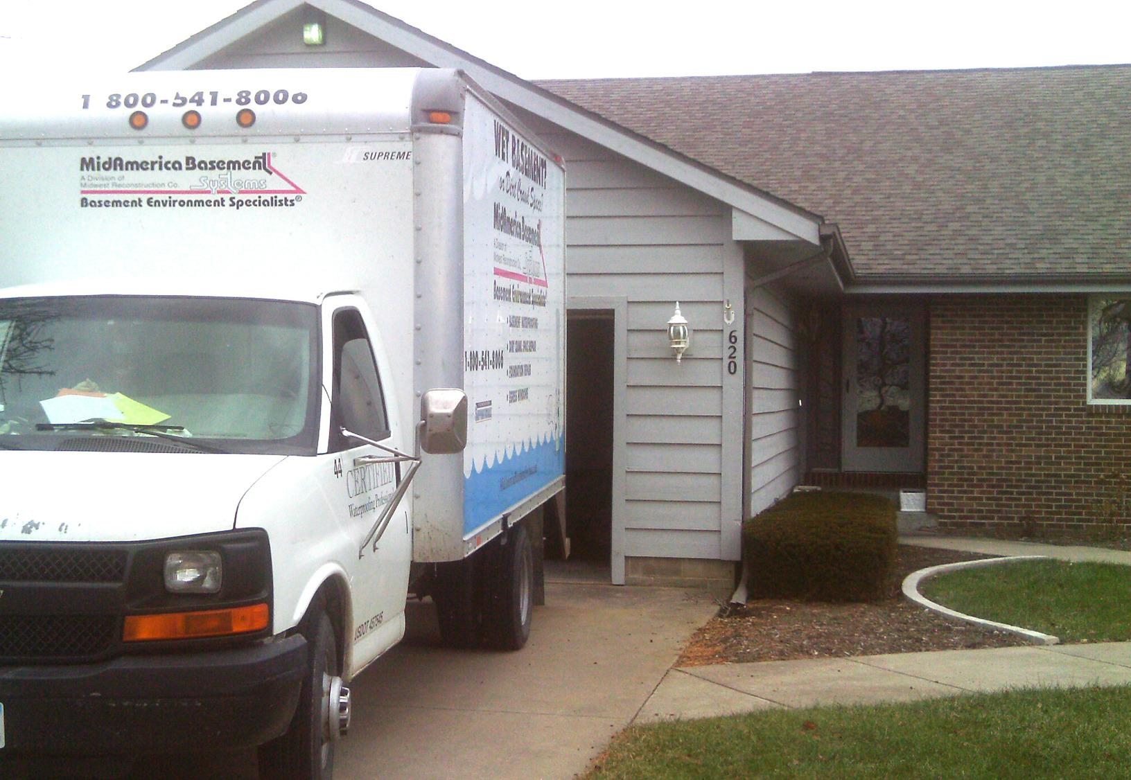 MidAmerica Basement Systems has the patented products and trained professionals to get the job done right!