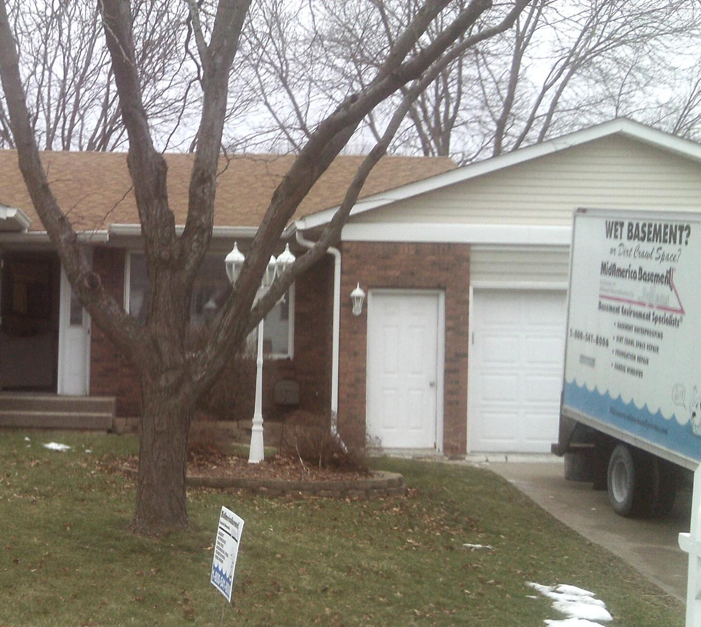 The team is ready to help another family claim their basement back!