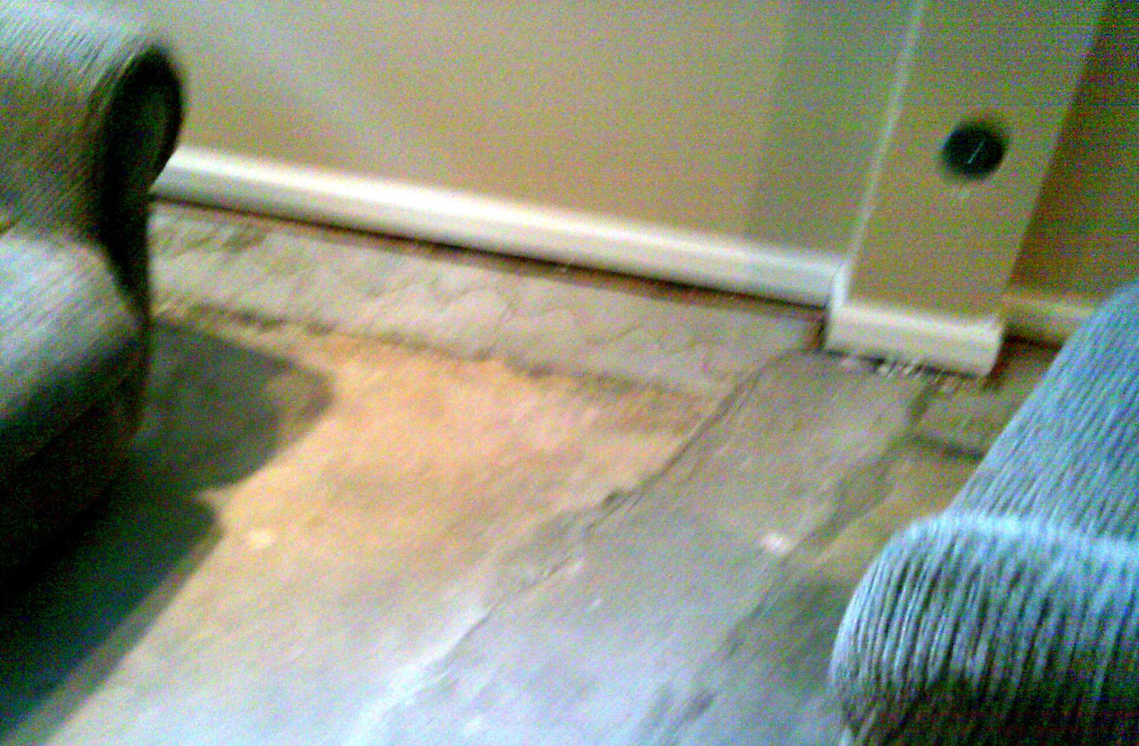 Waterproofing should be the first step taken before doing any finishing, such as flooring.