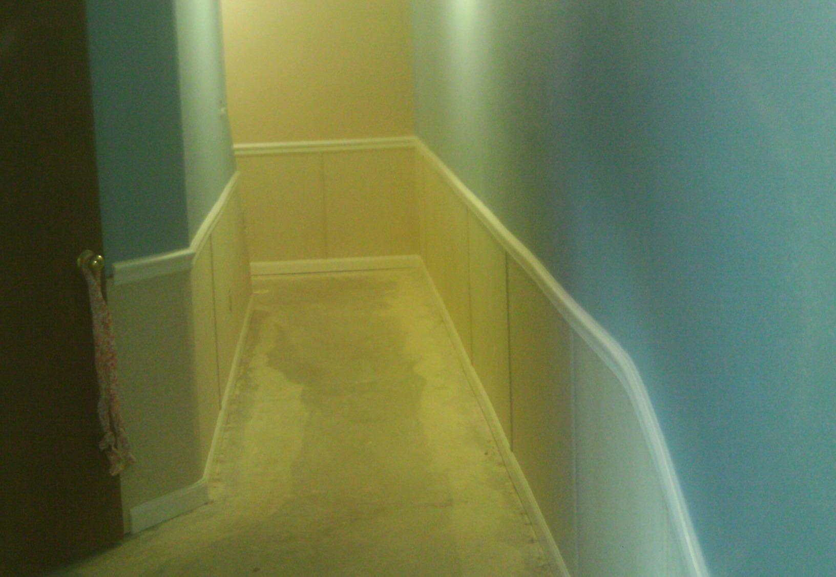 After the installation of EverLast, the basement has a completely different look and feel.
