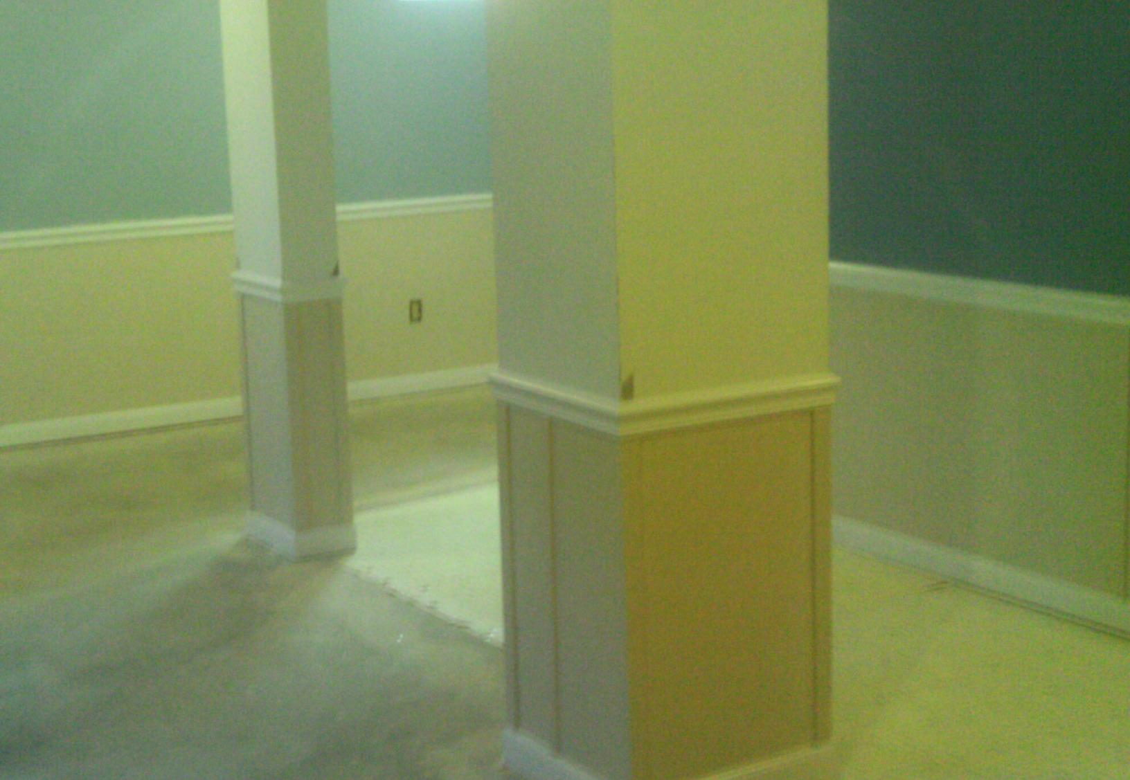 EverLast wall restoration is completely inorganic so it will never be damaged by water or water vapor.