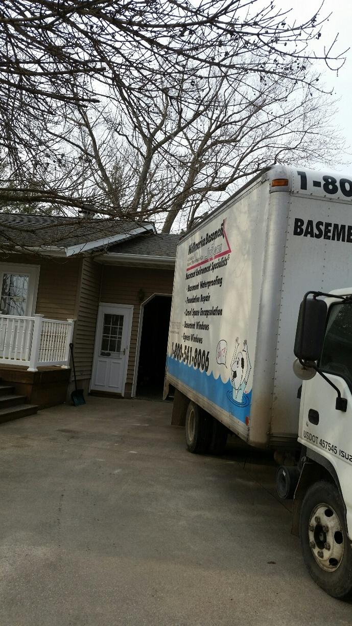 The team arrives at the residence ready to provide some peace of mind to the homeowner.