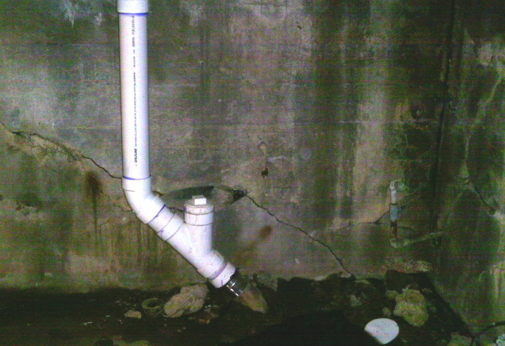 Leaky pipes are one of the many ways water can seep into a crawl space making it likely to smell and rot the organic material within the crawl space.