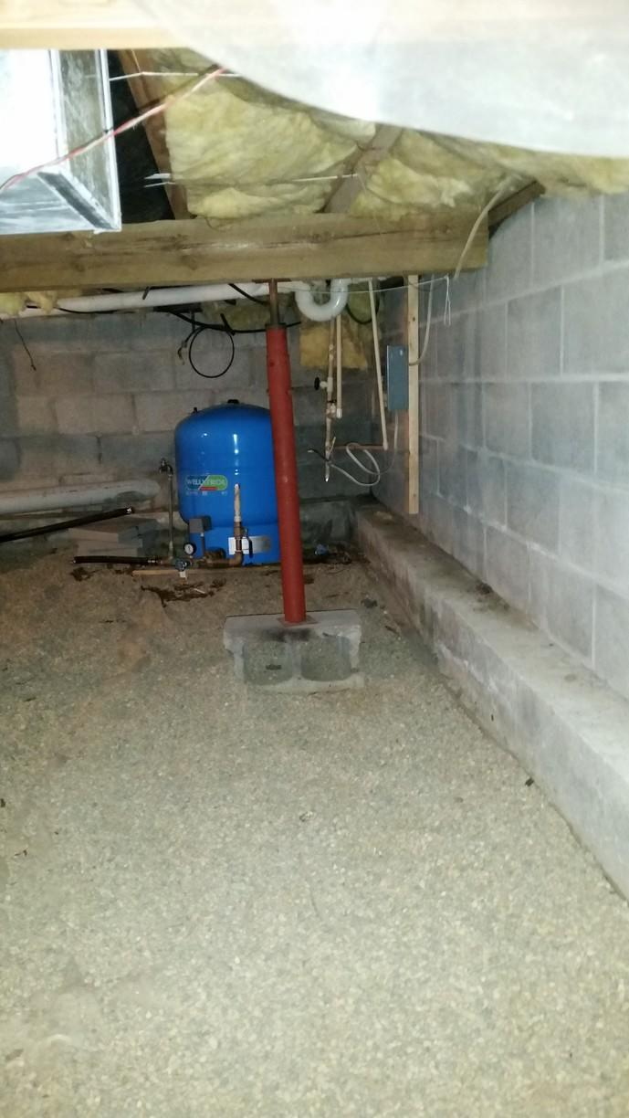 Utilities are liable to leak and so they are one of the top three causes of moisture in crawl spaces and basements.